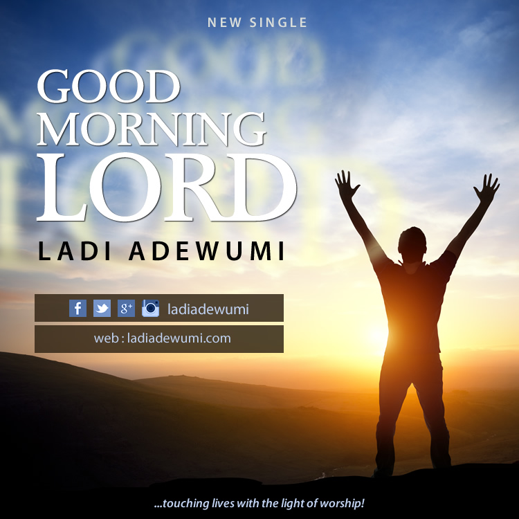 Good Morning Lord, Cover Art 01, Ladi